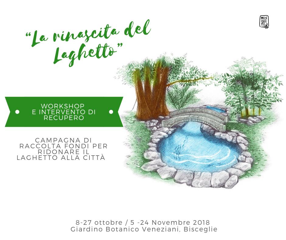 La rinascita del Laghetto - workshop e intervento di recupero @ Giardino Botanico Veneziani